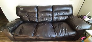 Free - Leather Couch for Sale in Raleigh, NC