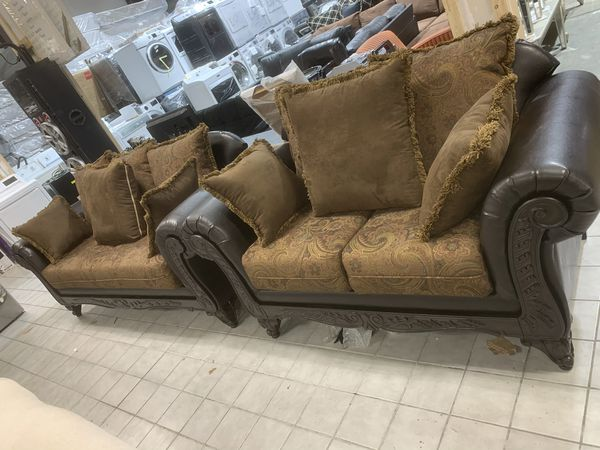 New sofa and loveseat