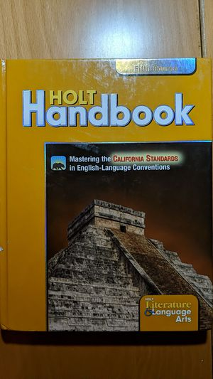 Literature and Language Arts Holt Handbook 5th Course for Sale in Hacienda Heights, CA