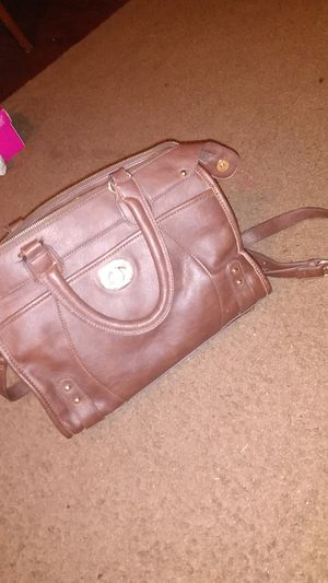 Charming Charlie's brown leather duffle bag with long straps Asking $20 for Sale in Dallas, TX