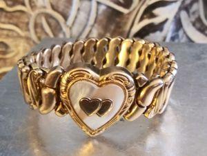 1940s 14k Gold Filled Sweetheart Bracelet-Spidel for Sale in Sacramento, CA