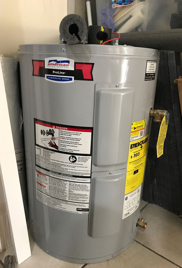 New 30 gallons Water Heater