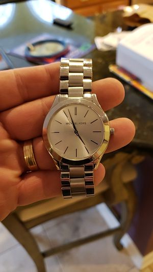 Michael Kors unisex Runway watch 42mm w/ Stainless bracelet for Sale in Lorton, VA