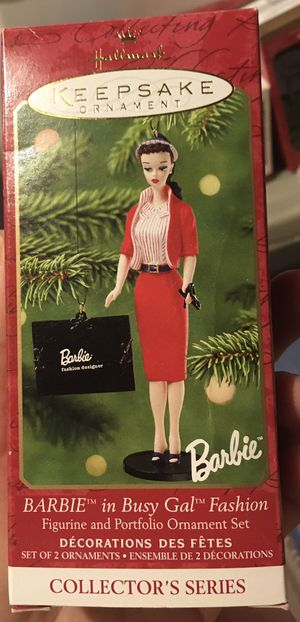 Hallmark Barbie ornament - Busy Gal for Sale in Export, PA