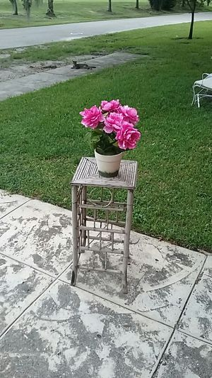 Vintage Bamboo Plant Stand for Sale in Orlando, FL