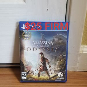 Assassin's Creed ODYSSEY - PS4, FIRM PRICE, GREAT CONDITION, TRADE for Ghost of TSUSHIMA only for Sale in Fountain Valley, CA