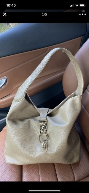 Dooney and Bourke hobo logo lock satchel bag with wallet for Sale in Boca Raton, FL