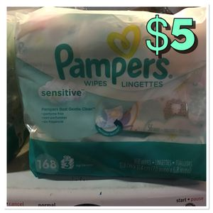 Pampers baby wipes for Sale in San Diego, CA