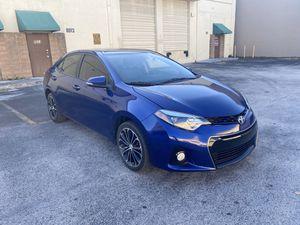 2016 Toyota Corolla S for Sale in Miami, FL