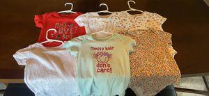 18 month short sleeve onesies. for Sale in Westland, MI