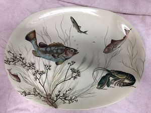 Johnson brother fish plates for Sale in North Bend, WA