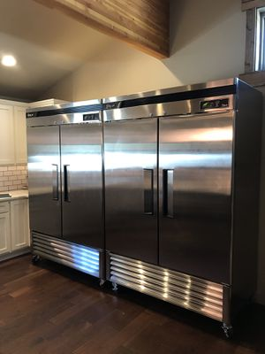 Turbo Air Commercial Freezer and Refrigerator. 1 year old. Like new for Sale in Leavenworth, WA