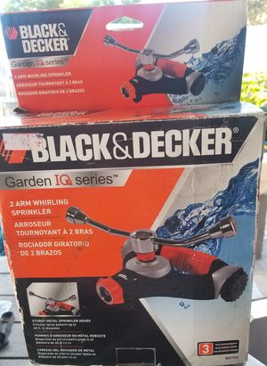 Black & Decker 2 Arm Whirling Sprinkler for Sale in Long Beach, CA
