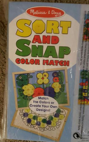 Melissa & Doug Sort and Match Game for Sale in Seattle, WA