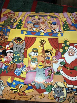 Vintage Disney advent calendar for Sale in Oakley, CA