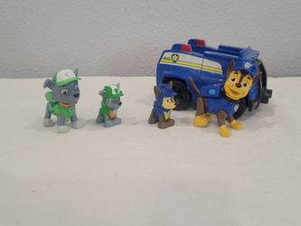 Paw Patrol Car And Figurines for Sale in Costa Mesa,  CA