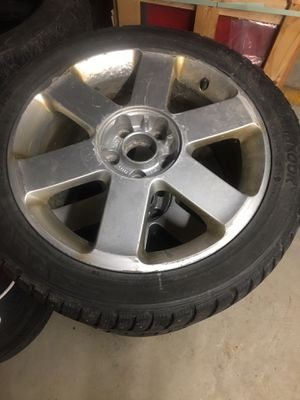 4 Volkswagen rims on studded hankook tires for Sale in Alburgh, VT