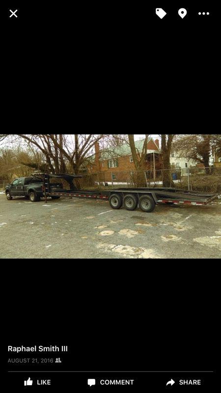 Appalachian 3 car hauler