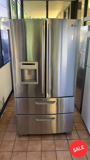 BLOWOUT SALE!LG Refrigerator Fridge LOWEST PRICES! 28 cu ft #1549 for Sale in Glen Burnie, MD
