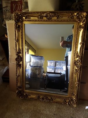 PRICE LOWERED Vintage Mirror And Frame for Sale in Bellevue, WA