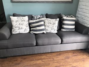 Ashley's furniture Sofa Bed and love couch. for Sale in Orange, CA