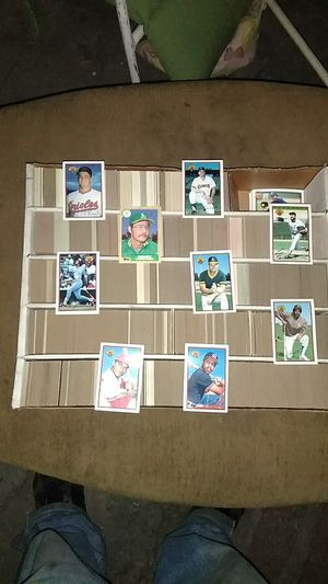 Baseball card collection for Sale in Los Angeles, CA