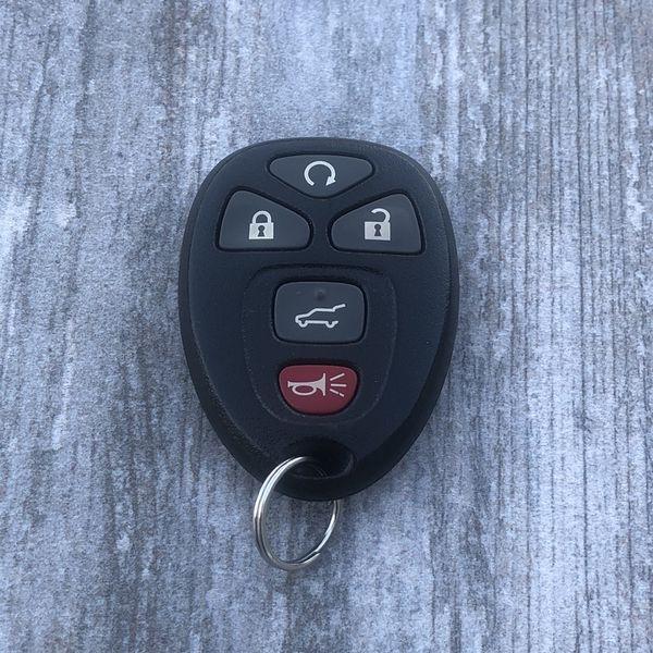 2008 - 2012 Chevrolet Chevy GMC 5 Button Remote FOB OEM