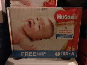 Brand new Size 1 Huggies Diapers for Sale in Chula Vista, CA