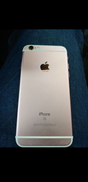 IPhone 6S, 32 GB, T Mobile UNLOCKED, MINT (rose gold) for Sale in Chicago, IL