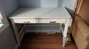 Student desk white and simple for Sale in Southborough, MA