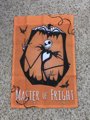 Nightmare Before Christmas Garden Flag - Jack for Sale in Farmingdale, NY