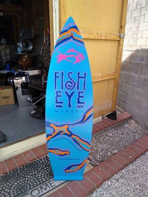 FISH EYE Winery surfboard display for Sale in Las Vegas, NV