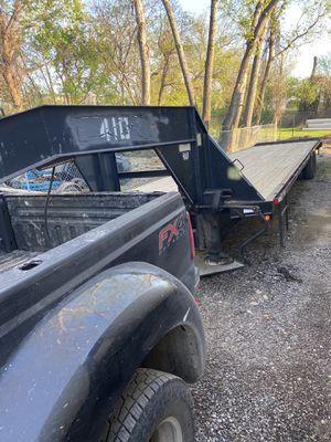 40ft flatbed gooseneck trailer for Sale in Garland, TX