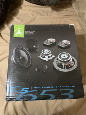 JL AUDIO C5-653 3 WAY SPEAKERS for Sale in Tracy, CA