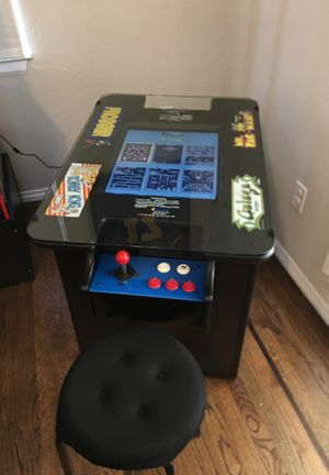 Arcade Cocktail Machine Plays 60 Games for Sale in Brentwood, CA