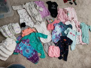 Newborn baby girl clothes for Sale in Waddell, AZ