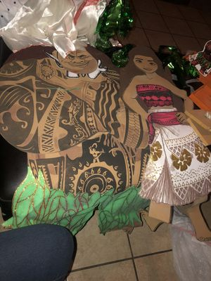 Moana party decorations for Sale in Garden Grove, CA