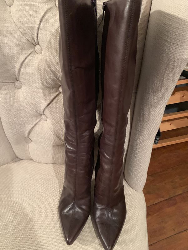 Nine West Leather Boots Size 9