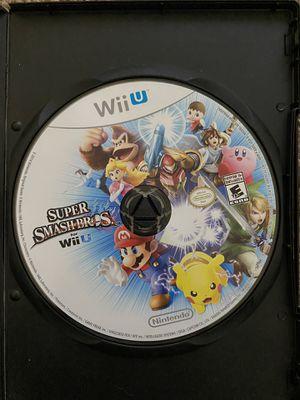 Nintendo Wii U super smash bros for Sale in Fresno, CA