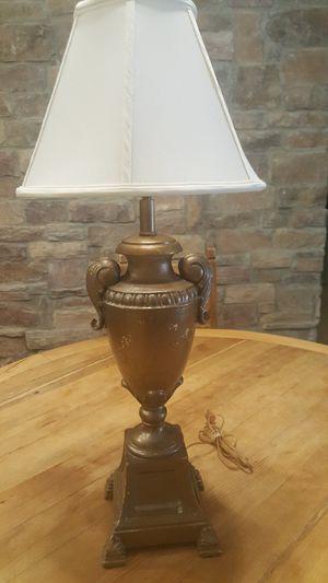 Vintage Trophy Lamp heavy solid for Sale in Chandler, AZ
