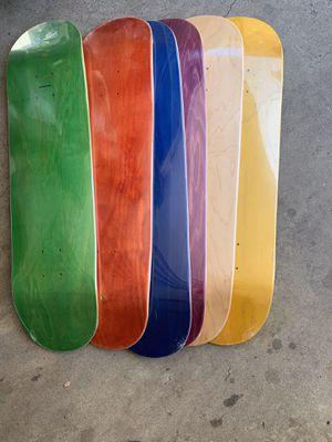 New maple wood skateboard decks for Sale in Los Angeles, CA