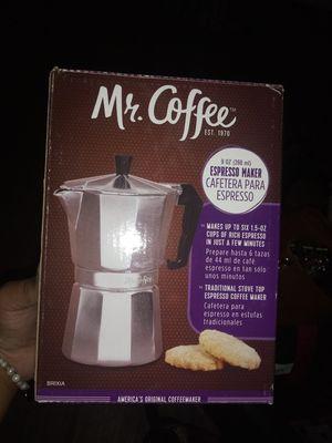 Mr. Coffee Espresso maker for Sale in San Antonio, TX