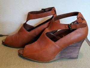 Ralph Lauren Women's Brown Wedge Heels for Sale in Ruston, WA