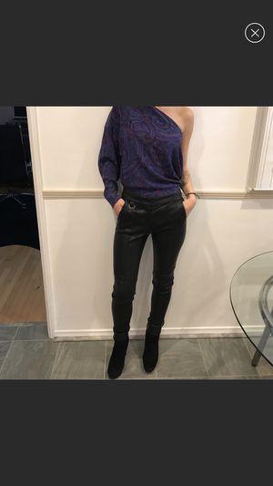 ALC Black Leather Pants for Sale in Santa Monica, CA