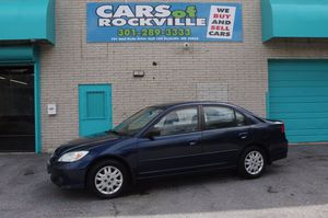 2005 Honda Civic Sdn for Sale in Rockville, MD