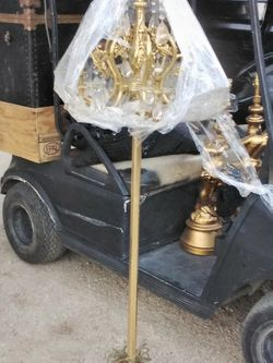 All Brass Standing Lamp for Sale in Sylmar,  CA