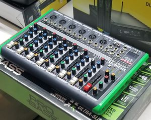 Pro Bass 12 channel mixer. With USB, and bluetooth. Brand New...for speaker...and microphones. Nationwide. for Sale in Miami, FL