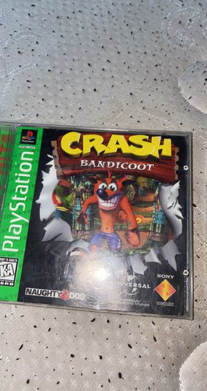 playstation 1 game lot crash bandicoot for Sale in Ontario, CA