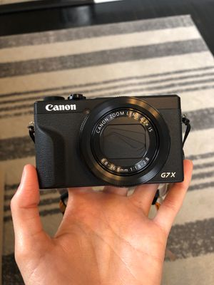Canon G7X Mark III for Sale in Norfolk, VA
