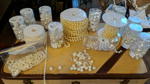 Pearl and Crystal Table Decor or Craft for Sale in Las Vegas, NV